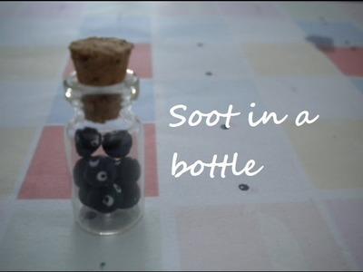 Totoro: soots in a miniature bottle