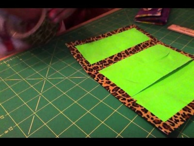 Tutorial: how to make a duct tape womens wallet Part 1: