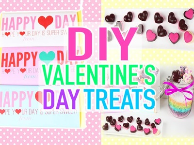 Valentine's Day Easy Frozen Recipes Treats - Gifts Ideas DIY LAST MINUTE