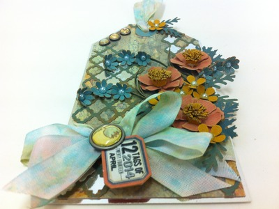 12 Tags of 2014 - April (Tim Holtz)