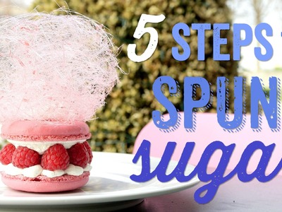 5 Steps to Spectacular Spun Sugar with Eric Lanlard