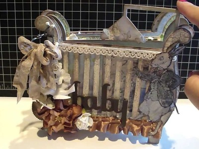 AccuCut Baby Crib Custom Die