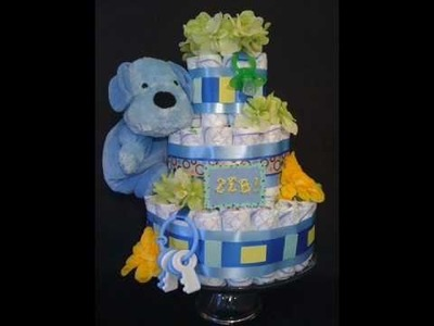 Adorable Diaper Cakes by Liz - The Perfect Baby Shower Gift