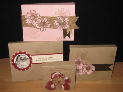 All Size box with Envelope Punch Board frenchiestamps.com