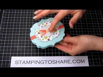 Assembling a Sweet Shop Treat Box