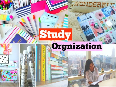 Back To School: Study + Organization Tips