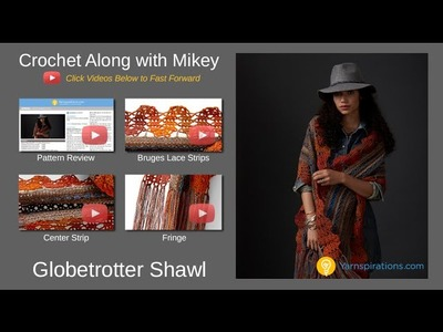 Crochet Globetrotter Shawl Tutorial