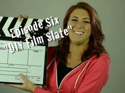 DIY Film Slate (Building a Clapperboard)