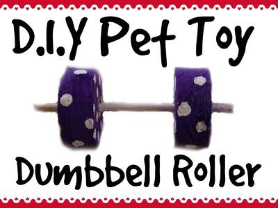 Dumbell Roller *Homemade Guinea Pig Toy*
