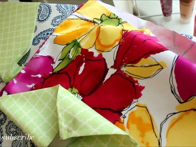 Envelope Brushes Holder DIY