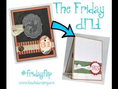 Friday Flip:  Simple Christmas Card