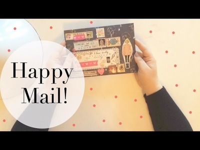 Happy Mail Unboxing! The Cutest Planner Supplies Ever!!