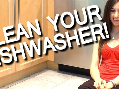 How to Clean Your Smelly Dishwasher! Kitchen Appliance Cleaning Ideas (Fast & Easy!) Clean My Space