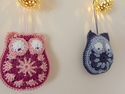 How to Crochet a Granny Owl