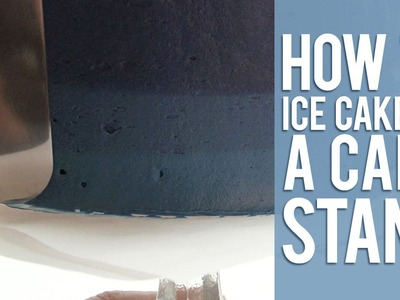How to Ice a Cake on a Cake Stand
