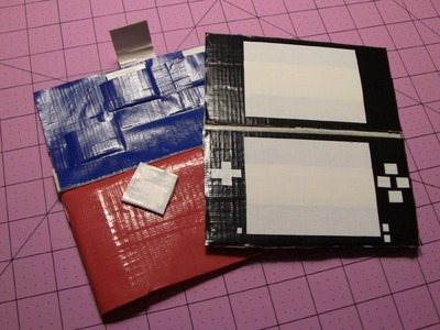 How to make a Duct tape Nintendo DS case!