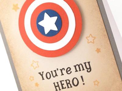 How to: Make a Super Hero Card
