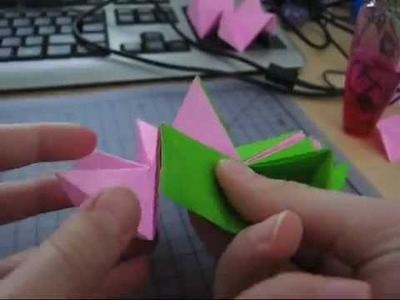 How to make the Revealed Flower. Origami