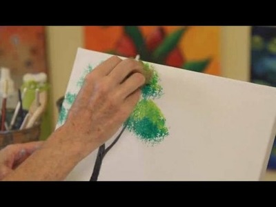 How to Paint a Tree | Acrylic Painting