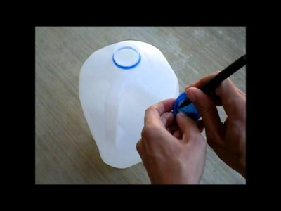 How To Upcycle a Milk Jug into a Watering Can