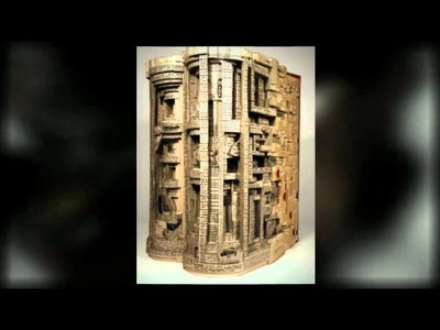 Insane Book Art - Book Sculptures