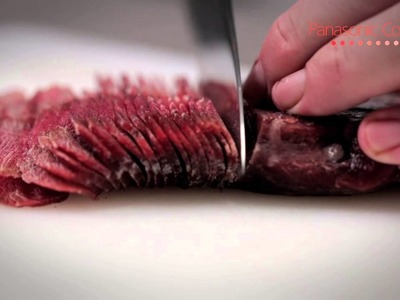 Learn how to have perfectly thin sliced meat!