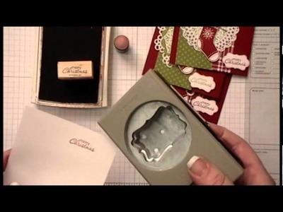 Mini Decorative Label Punch tutorial