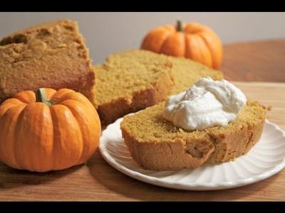Moist & Fluffy Pumpkin Bread Recipe - How to make Pumpkin Bread