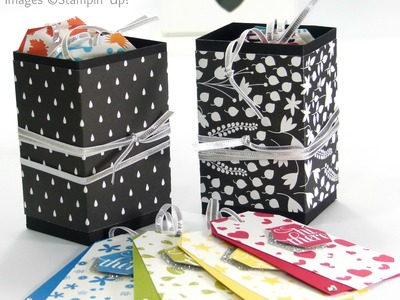 Perpetual Birthday Calendar Tags Box Tutorial