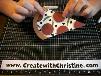 Pizza Fun (CTMH) by www.CreatewithChristine.com