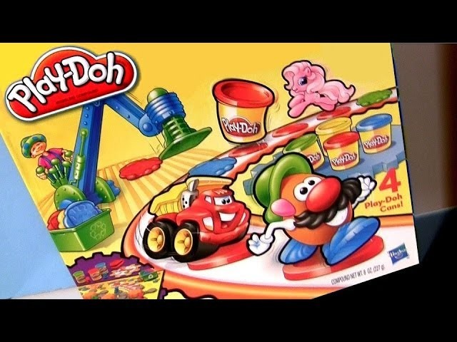 Play Doh Toy Time Race Game Playset Chuck & Friends Chuck the Talking Truck Pinkie Pie Play Dough