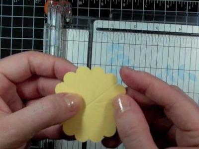 Pleated Flower Tutorial