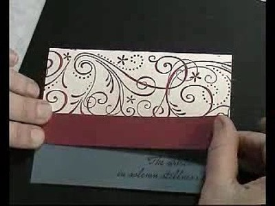 Quick Christmas card- non-traditional colours