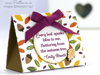Stampin' Up! Into the Woods Tent Tutorial