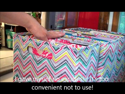 Stampin' Up! Quick Tip:  Organizing with 31!