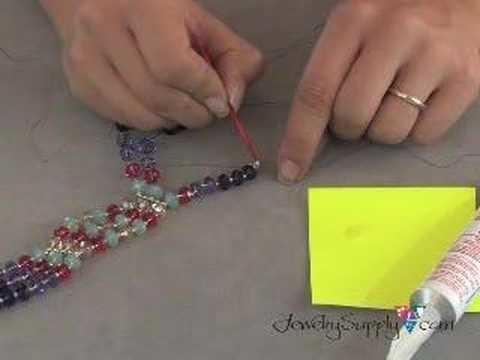 Swarovski Crystal Bracelet - How to, part III