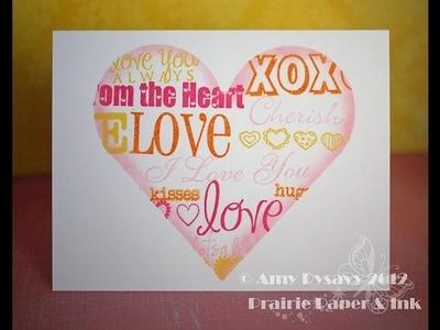 Valentine Card Series - Card #12