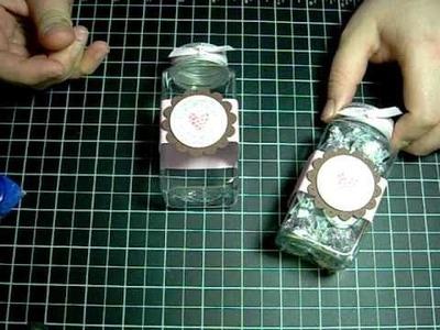 Valentine Treat Jar (Semi-handmade) #5