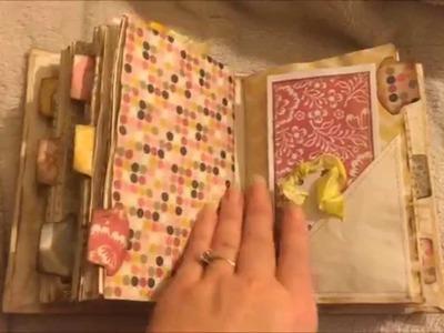 Vintage Junk journals for sale on my Etsy