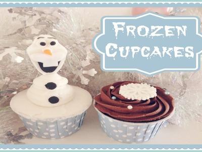 Wilton's Olaf Cupcakes