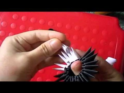 3D origami panda suit (part 1 of 3)