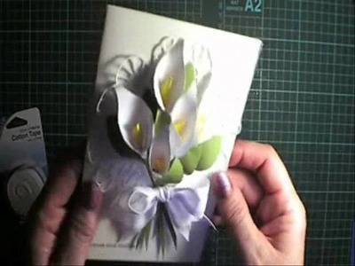 Calla Lily punch art