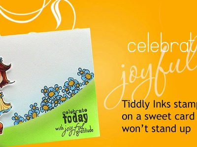 Celebrate joyfully! (Curvaceous Cut card tutorial!)