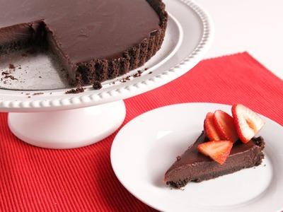 Chocolate Ganache Tart Recipe - Laura Vitale - Laura in the Kitchen Episode 933