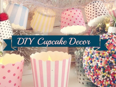 Christmas Cupcake DIY Decor