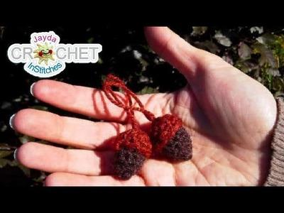 Crochet Acorn Accessories & Decorations