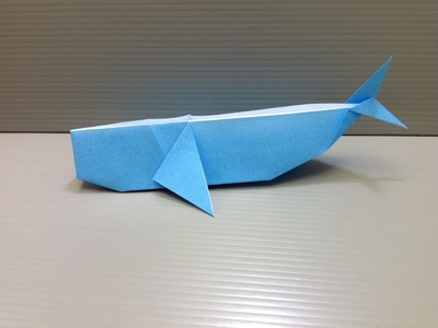 Daily Origami: 119 - Whale