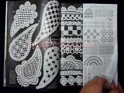 December 2014 Duplet 166 Ukrainian crochet patterns magazine from www.duplet-crochet.com