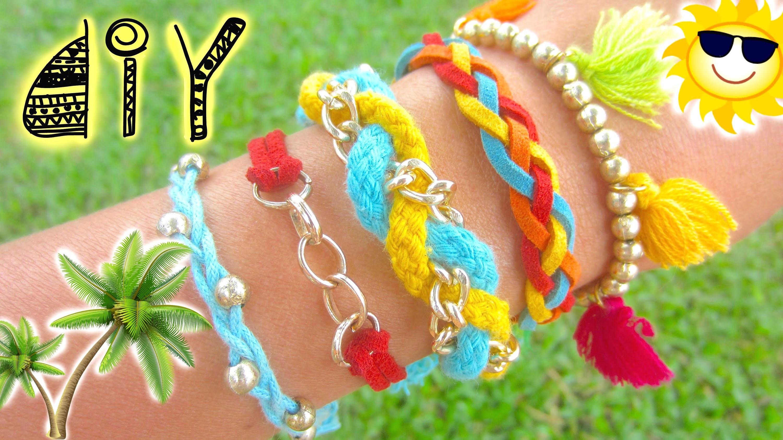 DIY Boho Summer Bracelets | Hoi An & Da Nang 2015