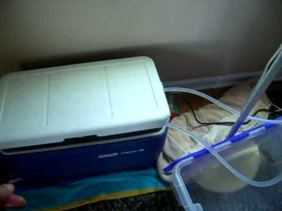 DIY Homemade Air Conditioner - Cooler + Fan